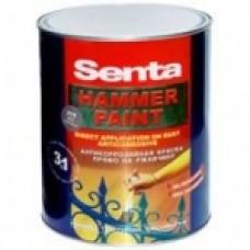 Краска Senta Hammer молотковая, 0,75л