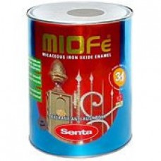 Краска с металлической крошкой Senta Miofe, 0,75л